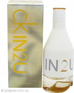 Calvin Klein CK IN2U Her Eau de Toilette 50ml Spray
