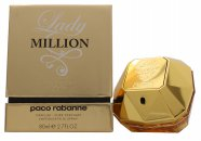 Paco Rabanne Lady Million Absolutely Gold Perfume Puro 80ml Vaporizador