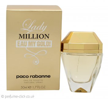 Paco Rabanne Lady Million Eau My Gold! Eau de Toilette 50ml Spray