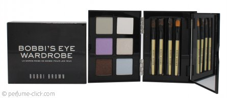 Bobbi Brown Bobbi's Eye Wardrobe 6 x Eye Shadow + 4 x Brush