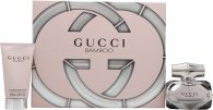 Gucci Bamboo Set de Regalo 75ml EDP + 100ml Loción Corporal + 7ml EDP