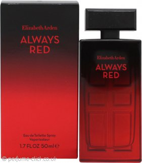 Elizabeth Arden Always Red Eau de Toilette 50ml Spray