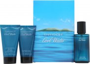 Davidoff Cool Water Gift Set 40ml EDT + 50ml Shower Gel + 50ml Aftershave Balm