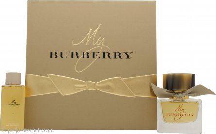 Burberry My Burberry Gift Set 1.7oz (50ml) EDP + 2.5oz (75ml) Shower Gel