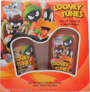 Looney Tunes Gift Set 100ml EDT + 240ml Body Wash