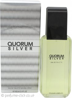 Antonio Puig Quorum Silver Eau De Toilette 100ml Spray