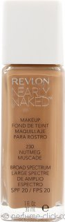 Revlon Nearly Naked Foundation 30ml Nutmeg - SPF20