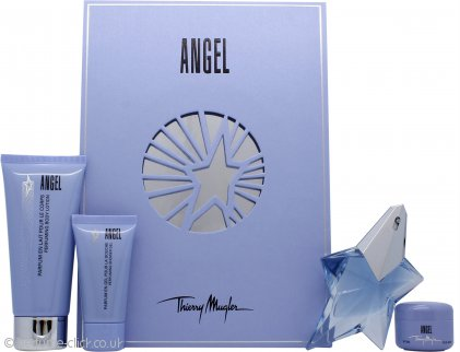 Thierry Mugler Angel Gift Set 25ml EDP + 30ml Body Lotion + 30ml Shower Gel