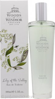 Woods of Windsor Lily of the Valley Eau de Toilette 100ml Spray