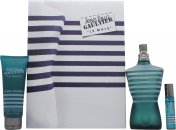 Jean Paul Gaultier Le Male Gift Set 125ml EDT + 75ml All-Over Shower Gel + 9ml Pocket Spray