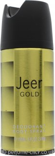 Jeer Gold Deodorant Body Spray 150ml