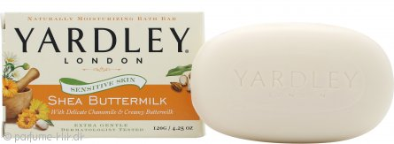 Yardley Shea Buttermilk Sæbe 120g