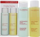 Clarins Everyday Cleansing Gift Set Normal or Dry Skin - 200ml Cleansing Milk with Alpine Herbs + 200ml Toning Lotion with Camomile
