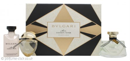 Bvlgari Mon Jasmin Noir Gift Set 50ml EDP + 40ml Body Lotion + 15ml EDP