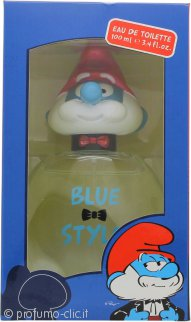 The Smurfs Blue Style Papa Eau de Toilette 100ml Spray