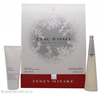 Issey Miyake L'eau d'Issey Gift Set 50ml EDT + 100ml Shower Cream