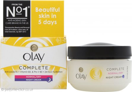 OLAY Complete Care Night Cream 50ml Normal/Dry/Oily Skin