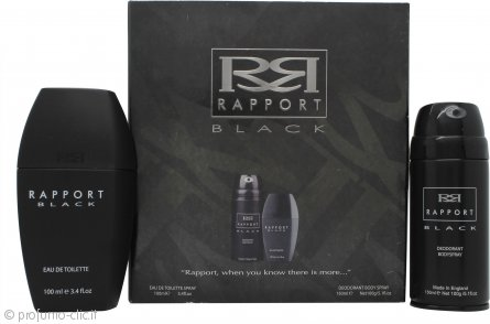 Dana Rapport Black Confezione Regalo 100ml EDT + 150ml Body Spray