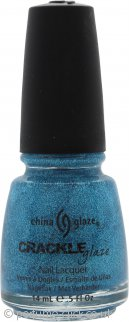 China Glaze Crackle Glaze Nail Lacquer 14ml - Gleam Me Up
