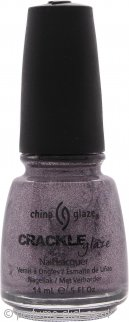 China Glaze Crackle Glaze Nail Lacquer Latticed Lilac 14ml