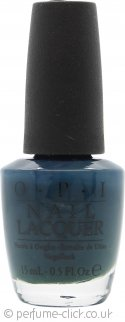OPI Swiss Collection Nail Polish 15ml - Ski Teal We Drop