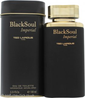 Ted Lapidus Black Soul Imperial Eau de Toilette 100ml Spray