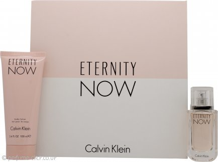Calvin Klein Eternity Now For Her Gift Set 30ml EDP Spray + 100ml Body Lotion