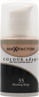 Max Factor Colour Adapt Foundation 34ml - #55 Blushing Beige