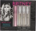 Britney Spears Fragrance Collection Gift Set 10ml EDP Fantasy + 10ml EDP Midnight Fantasy + 10ml EDP Curious + 10ml EDP Radiance