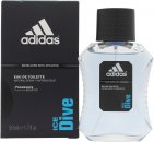 Adidas Ice Dive Eau de Toilette 50ml Spray
