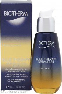 Biotherm Blue Therapy Serum en Aceite Nocturno 30ml