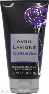 Avril Lavigne Forbidden Rose Gel Doccia 150ml