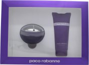 Paco Rabanne Ultraviolet Gift Set 80ml EDP + 100ml Body Lotion