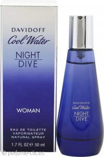 Davidoff Cool Water Woman Night Dive Eau de Toilette 50ml Vaporizador