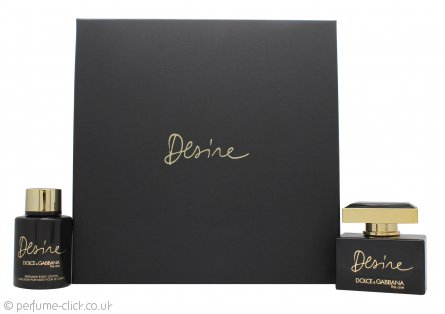 Dolce & Gabbana The One Desire Gift Set 50ml EDP + 100ml Body Lotion