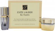 Estee Lauder Re-Nutriv Re-Creation Gavesæt 15ml Eye Balm + 4ml Night Serum for Eyes