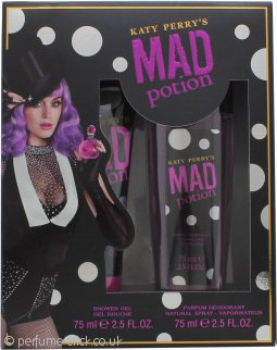 Katy Perry's Mad Potion Gift Set 75ml Shower Gel + 75ml Deodorant Spray