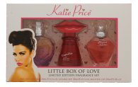 Katie Price Little Box of Love Gift Set 30ml Besotted EDP + 30ml Kissable EDP + 30ml Precious Love EDP