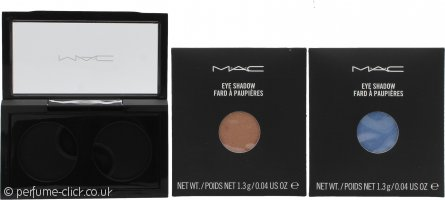 MAC Pro Palette Pro Colour Eyeshadow Set 2 x 1.3g Refill - All That Glitters + Moons Reflection