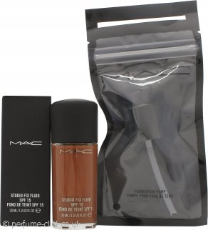 MAC Studio Fix Fluid Foundation SPF15 30ml - NW55 + Pump