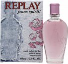 Replay Jeans Spirit! for Her Eau de Toilette 60ml Spray