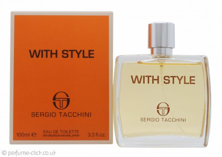 Sergio Tacchini With Style Eau de Toilette 100ml Spray