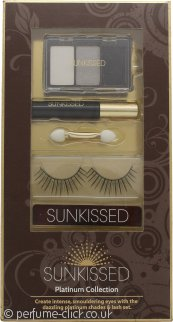 Sunkissed Lash Workshop 02 - False Eyelashes + Eyelash Adhesive + Black Kohl Eyeliner + Trio of Eyeshadows