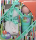 Style & Grace Bubble Boutique Sock Gavesæt 1 Par Sokker (One Size) + 90g Badebombe + 70ml Foot Lotion