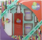 Style & Grace Bubble Boutique Bathing Experience Confezione Regalo 100ml Bagnoschiuma + 120ml Burro Corpo + 120ml Polish Corpo + 10ml Lucidalabbra