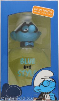 The Smurfs Blue Style Brainy Eau de Toilette 100ml Spray