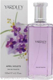 Yardley April Violets Eau de Toilette 125ml Spray