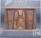 Guess Dare Gift Set 30ml EDT + 75ml Body Lotion + 75ml Shower Gel