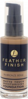 Lentheric Feather Finish Base Hidratante Toque Mate 30ml – Beige Bronce 06