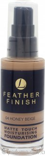 Lentheric Feather Finish Matte Touch Moisturising Foundation 30ml - Honey Beige 04